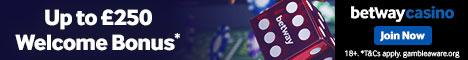 Online Casino Betway Banner