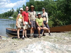 End of another great canoe trip