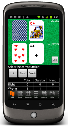 Blackjack Mentor for android