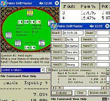 Poker Drill Master for Pocket PC
